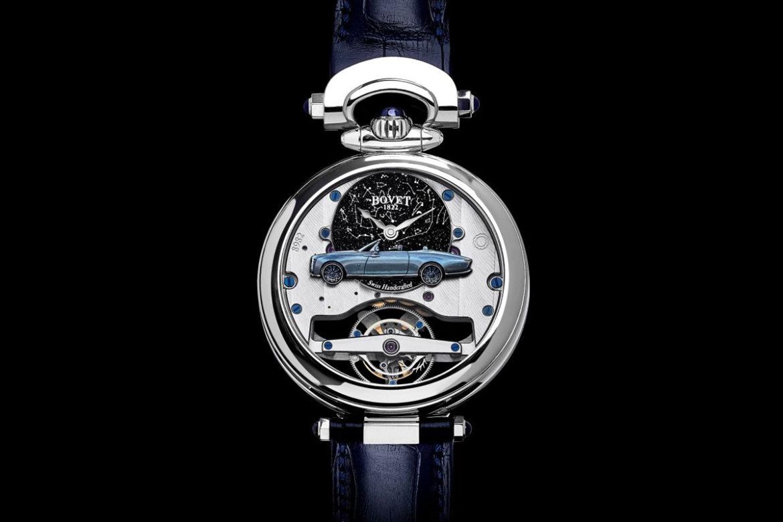 Rolls-Royce x Bovet horloge heren achterkant