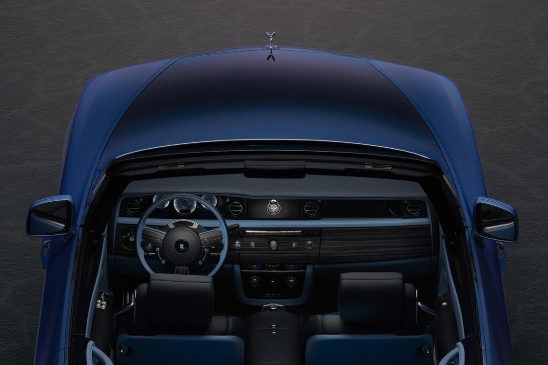 Rolls-Royce x Bovet horloge in auto 1
