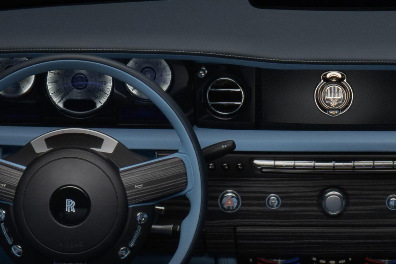 Rolls-Royce x Bovet horloge in auto 2