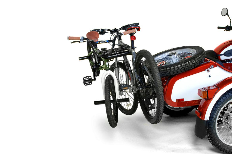 ural weekender special edition fietsenrek