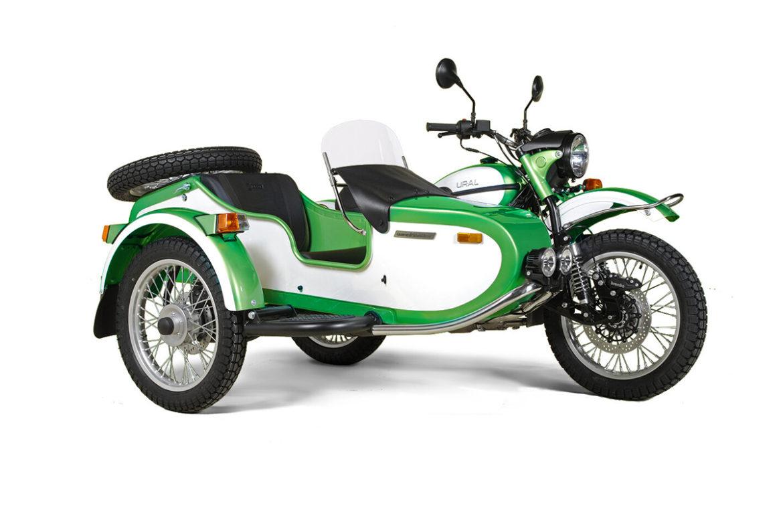 ural weekender special edition groen