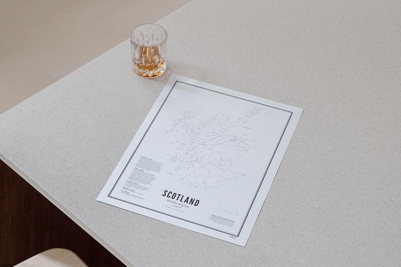 Kunst met whisky voor vaderdag