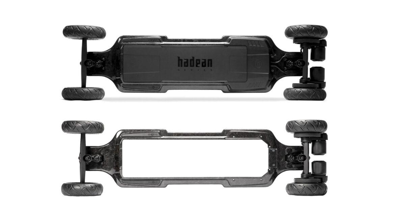 Evolve Hadean Carbon elektrisch skateboard frame