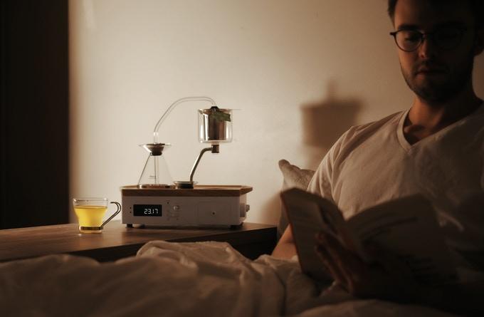 Koffiewekker zorgt voor het beste begin van de dag