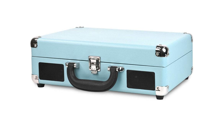 Victrola platenspeler draagbaar koffer