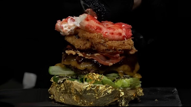 duurste hamburger ooit krab