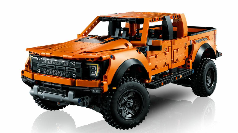 Ford F-150 Raptor van Lego