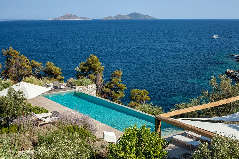 Luxe Griekse vakantiebestemmingen: Kolokithi Bay, Alonissos
