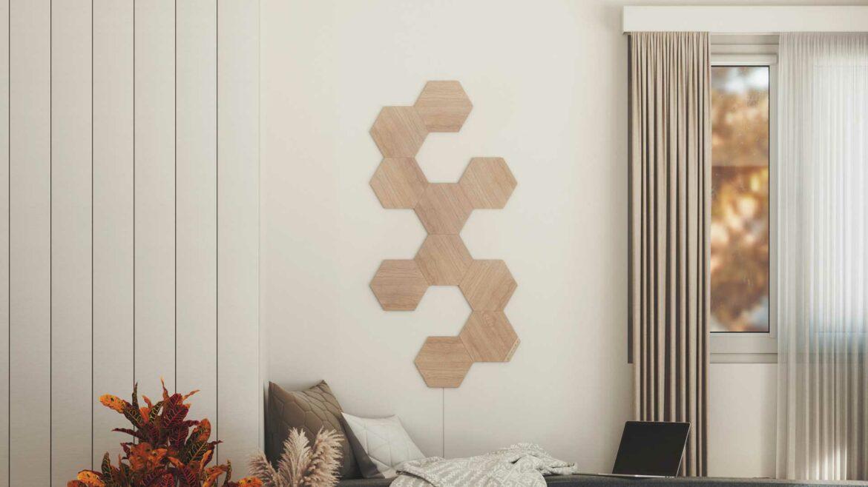 Nanoleaf Elements hout