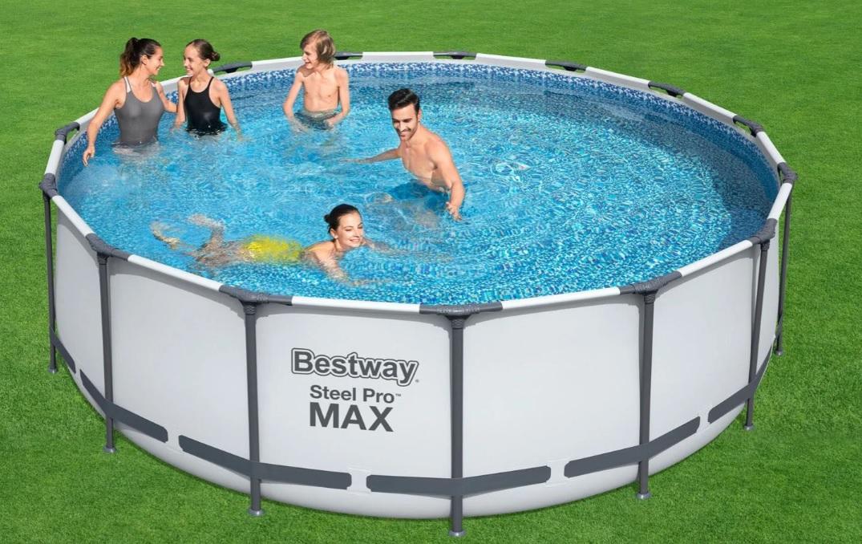 Lidl stunt met gigantisch zwembad voor de achtertuin