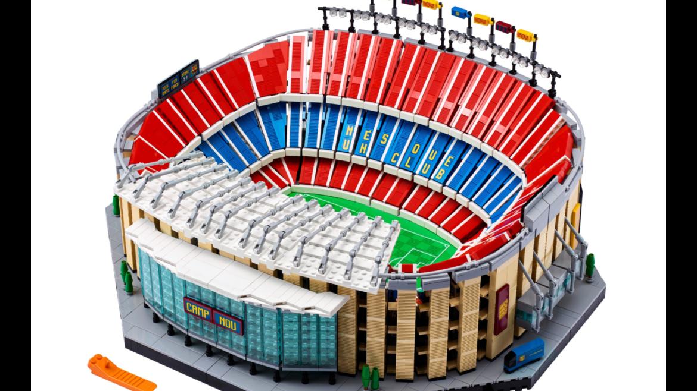 Camp Nou-set van LEGO