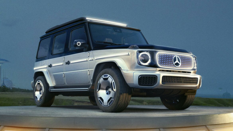 Mercedes EQG concept G-klasse