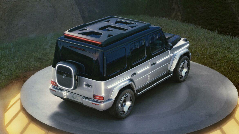Mercedes EQG concept G-klasse bovenkant