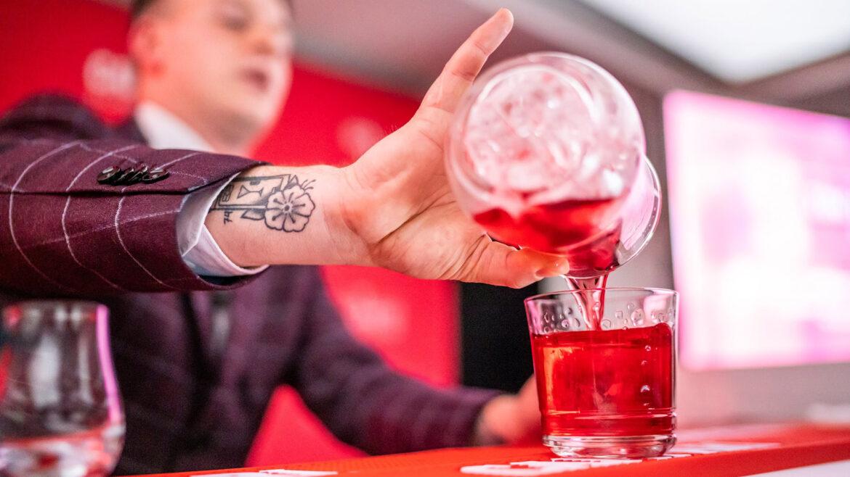 Negroni cocktail (Negroni-week Campari)