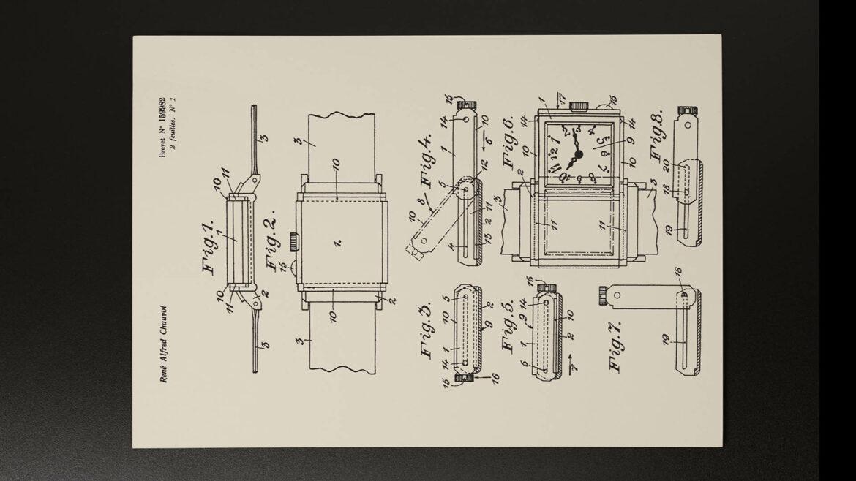 Geschiedenis van Jaeger-LeCoultre: patent Reverso